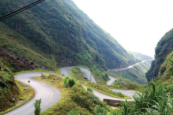Dốc Bắc Sum trên con đường tới Hà Giang